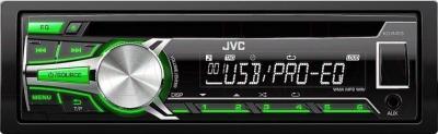 Автомагнитола JVC KD-R453EY - общий вид
