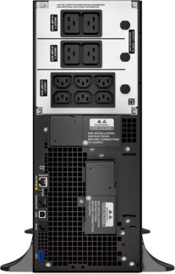 ИБП APC Smart-UPS SRT 6000VA 230V (SRT6KXLI) - вид сзади