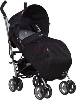 Детская прогулочная коляска Coto baby Soul (06) - с чехлом для ног