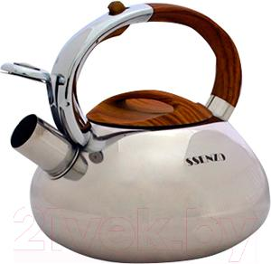 Чайник со свистком SSenzo PTIDK100S - общий вид