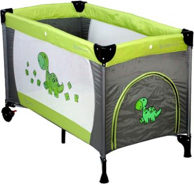 Кровать-манеж Coto baby Samba Proste (05) - общий вид