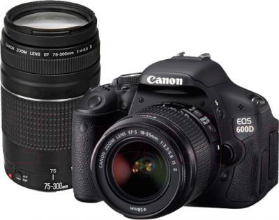 Зеркальный фотоаппарат Canon EOS 650D Double Kit 18-55mm + 75-300mm - общий вид