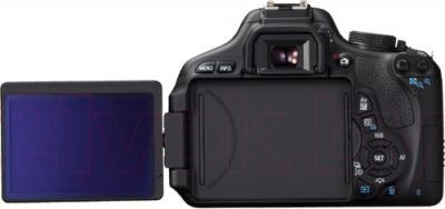 Зеркальный фотоаппарат Canon EOS 650D Double Kit 18-55mm + 75-300mm - поворотный экран