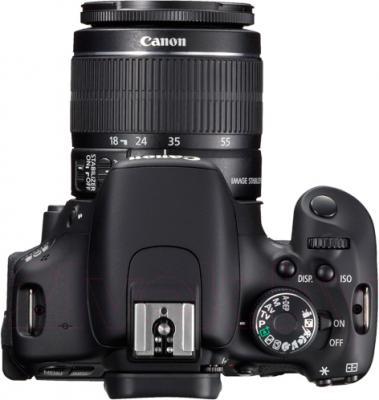 Зеркальный фотоаппарат Canon EOS 650D Double Kit 18-55mm + 75-300mm - вид сверху