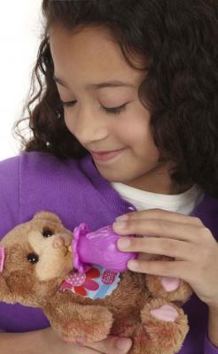 Интерактивная игрушка Hasbro FurReal Friends Новорожденные зверята (A1647) - кормление