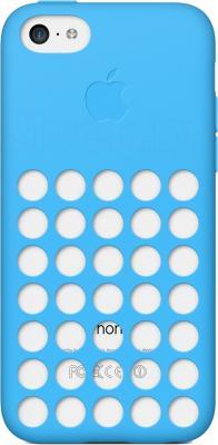 Чехол для телефона Apple Case for iPhone 5c MF035ZM/A (синий) - общий вид