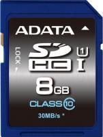 Карта памяти A-data Premier SDHC UHS-I U1 (Class 10) 8 GB (ASDH8GUICL10-R) -