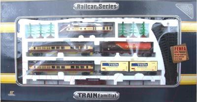 Железная дорога детская Fenfa Грузопассажирский поезд (1601B-1) - общий вид