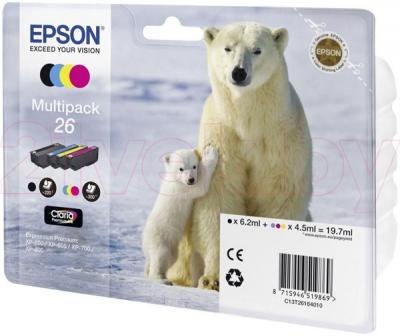 Комплект картриджей Epson C13T26164010 - общий вид