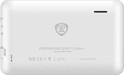 Планшет Prestigio MultiPad 7.0 Ultra+ 4GB (PMT3677_WI_B_WH) - вид сзади