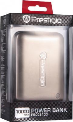 Портативное зарядное устройство Prestigio PBC02100CP - в упаковке