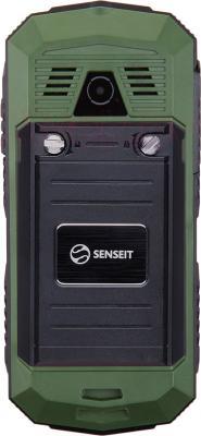 Мобильный телефон Senseit P10 (зеленый) - вид сазди