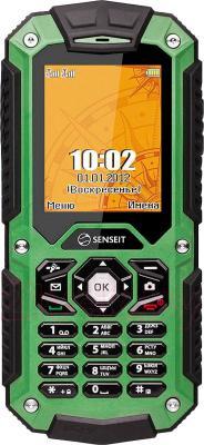 Мобильный телефон Senseit P10 (зеленый) - общий вид