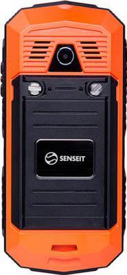 Мобильный телефон Senseit P10 (оранжевый) - задняя панель