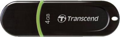 Usb flash накопитель Transcend JetFlash 300 4 Gb (TS4GJF300) - общий вид