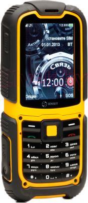 Мобильный телефон Senseit P3 - вполоборота