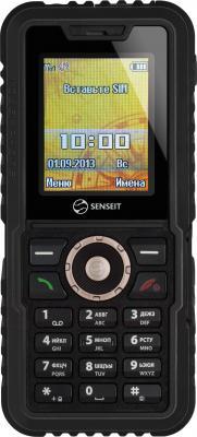 Мобильный телефон Senseit P7 (черный) - общий вид
