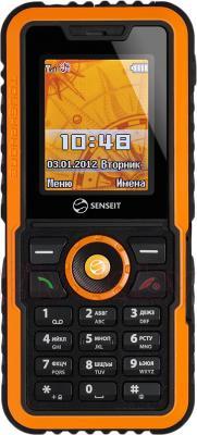 Мобильный телефон Senseit P7 (желтый) - общий вид