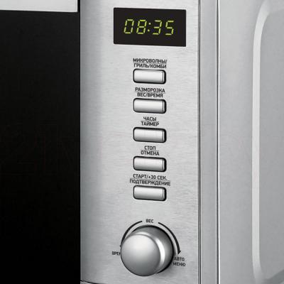Микроволновая печь BBK 20MWG-730T/BX - элементы управления