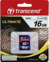 Карта памяти Transcend SDHC Class 10 16 Gb (TS16GSDHC10) -
