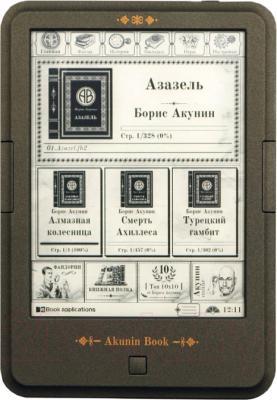 Электронная книга Onyx C63L Akunin Book - фронтальный вид