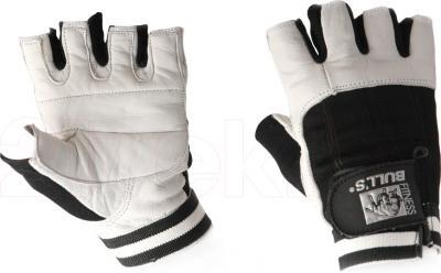 Перчатки для пауэрлифтинга Bulls FG-516-XL - общий вид