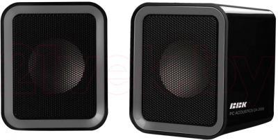 Мультимедиа акустика BBK CA-205S (черно-серый) - общий вид
