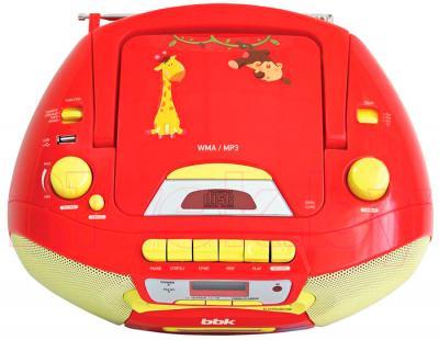 Магнитола BBK BX111UC (красно-желтый) - вид сверху