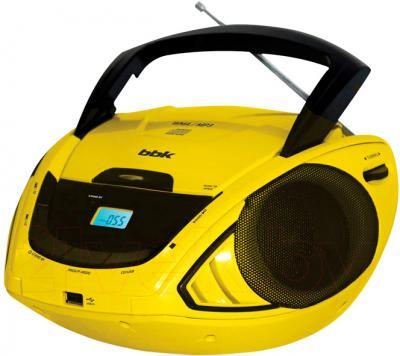 Магнитола BBK BX190U (черно-желтый) - общий вид