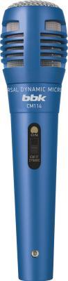 Микрофон BBK CM114 (синий) - общий вид