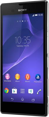 Смартфон Sony Xperia T3 (D5102) (Black) - общий вид