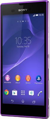 Смартфон Sony Xperia T3 (D5102) (Purple) - общий вид