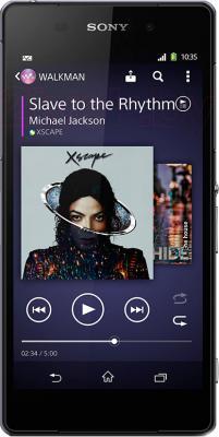 Смартфон Sony Xperia Z2 / D6502 (черный) - общий вид