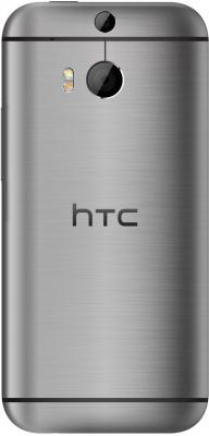 Смартфон HTC One Mini 2 (серый) - вид сзади