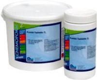 Таблетки для воды бассейна Аква технолоджи O2 (альгицид+активный кислород) -