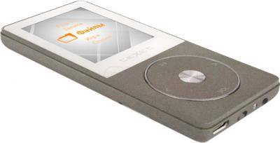 MP3-плеер TeXet T-55 (8Gb, серый) - общий вид