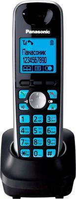 Дополнительная телефонная трубка Panasonic KX-TGA651RUB - общий вид
