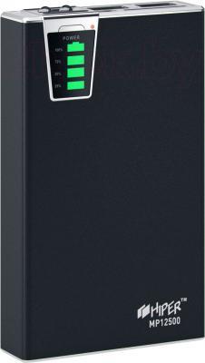 Портативное зарядное устройство Hiper MP12500 (черный) - общий вид