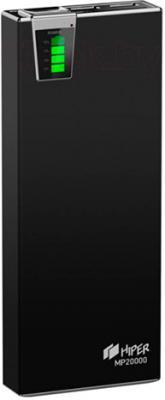 Портативное зарядное устройство Hiper MP20000 (черный) - общий вид