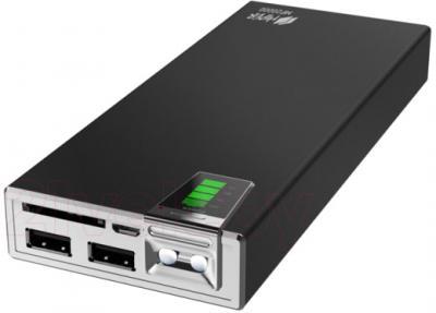 Портативное зарядное устройство Hiper MP20000 (черный) - разъемы для подключения