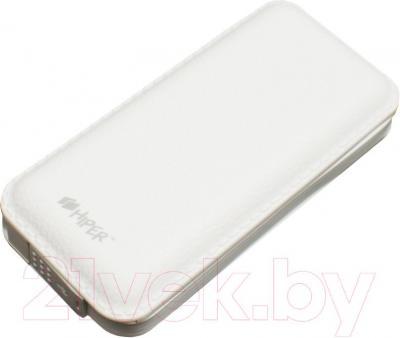 Портативное зарядное устройство Hiper SP12500 (белый) - общий вид