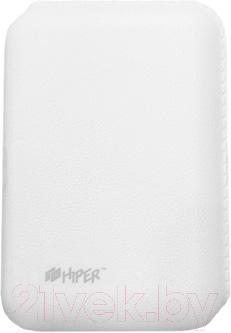 Портативное зарядное устройство Hiper SP7500 (белый) - общий вид