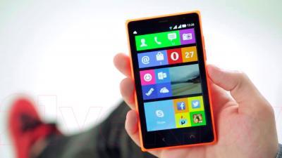 Смартфон Nokia X2 Dual (оранжевый)