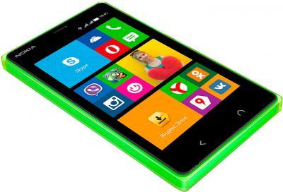 Смартфон Nokia X2 Dual (зеленый) - общий вид