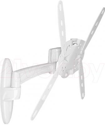 Кронштейн для телевизора Holder LCDS-5025 (белый) - общий вид