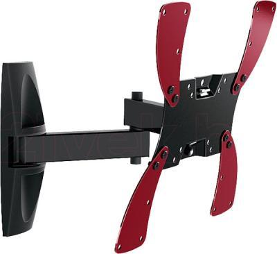 Кронштейн для телевизора Holder LCDS-5046 (черный глянец) - общий вид