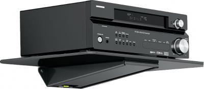 Кронштейн под аппаратуру Holder DVD-F1001-B - с аппаратурой
