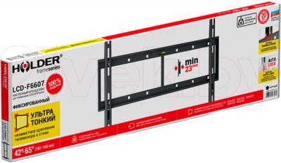 Кронштейн для телевизора Holder LCD-F6607-B - упаковка