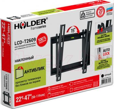 Кронштейн для телевизора Holder LCD-T2609-B - упаковка