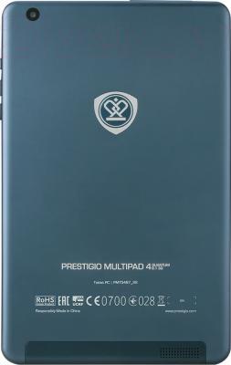 Планшет Prestigio MultiPad 4 Quantum 8.0 16GB 3G (PMT5487_3G_D) - вид сзади